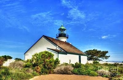 Photograph - Point Loma Lighthouse by Mel Steinhauer