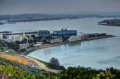 Point Loma Sub Base Art Print by Walt Miller