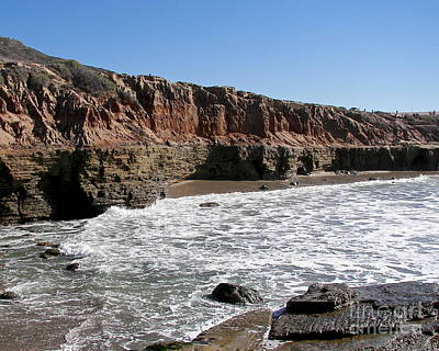 Photograph - Point Loma Tidal Pools by Carol  Bradley