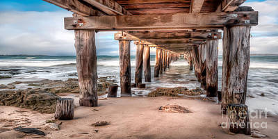 Photograph - Point Lonsdale Jetty by Shannon Rogers