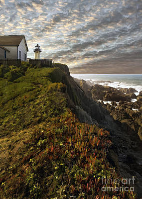 Photograph - Point Montara Light House II by Sharon Foster