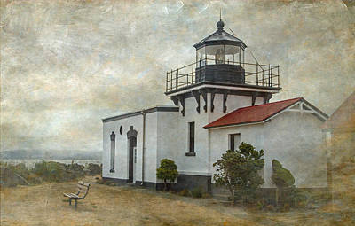Photograph - Point No Point Lighthouse by Angie Vogel