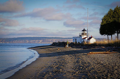 Photograph - Point No Point Lighthouse Ix by Ronda Broatch