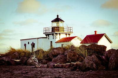 Photograph - Point No Point Lighthouse Viii by Ronda Broatch