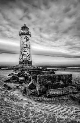 Talacre Photograph - Point Of Ayre Lighthouse by Adrian Evans
