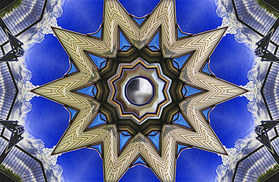 Digital Art - Point Of View - Blue by Wendy J St Christopher