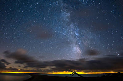 Lake Erie Photograph - Point Pelee Milky Way by Cale Best