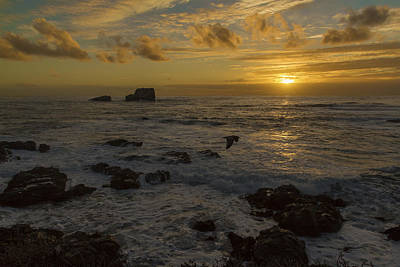 Photograph - Point Piedras Blancas Sunset by Jim Moss