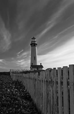 Point Pigeon Lighthouse Art Print by Jonathan Nguyen
