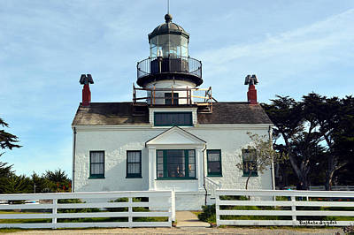 Point Pinos Lighthouse Print by Barbara Snyder
