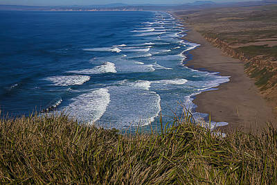 Point Reyes Beach Seashore Art Print by Garry Gay