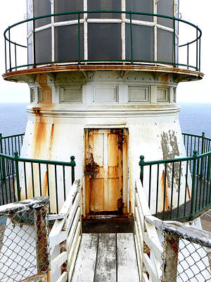 Photograph - Point Reyes Historic Lighthouse by Laurel Powell
