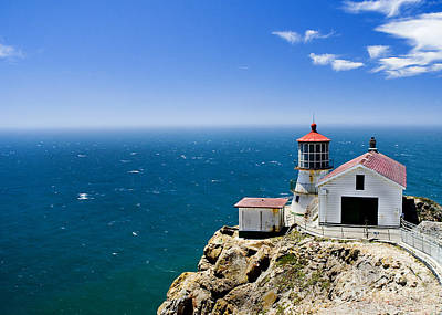 Point Reyes Lighthouse California Art Print