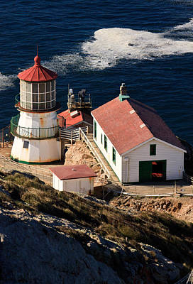 Photograph - Point Reyes Lighthouse by Mathew Lodge