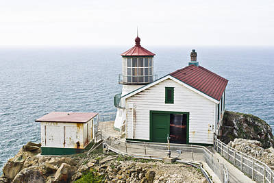 Photograph - Point Reyes Lighthouse by Priya Ghose