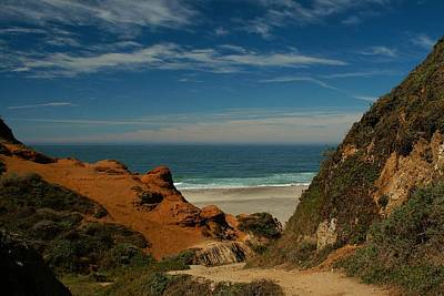 Photograph - Point Reyes - North Shore by David Armentrout