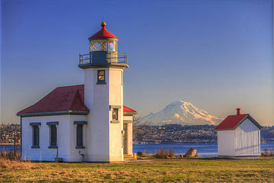 Just Desserts - Point Robinson and Mount Rainier by Mike Penney