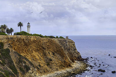 Photograph - Point Vicente Lighthouse by Kim Swanson