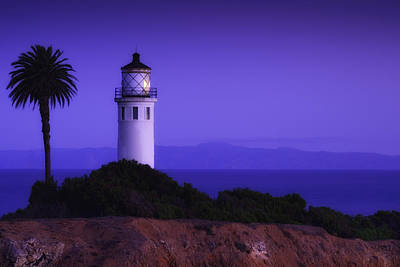 Photograph - Point Vicente Lighthouse - Rancho Palo Verdes - California by Photography  By Sai