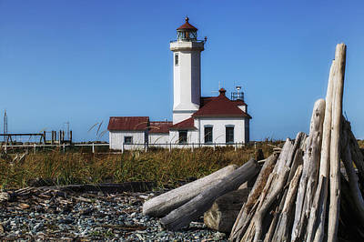 Photograph - Point Wilson Lighthouse by Garry Gay