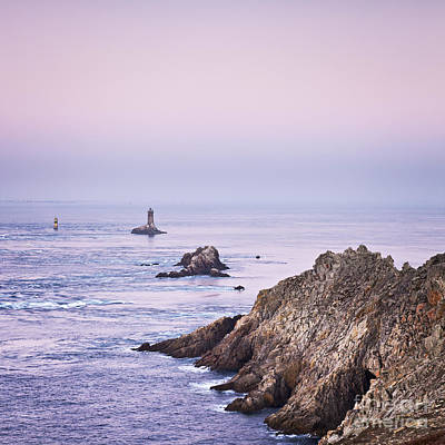 Photograph - Pointe Du Raz Brittany France At Dawn by Colin and Linda McKie