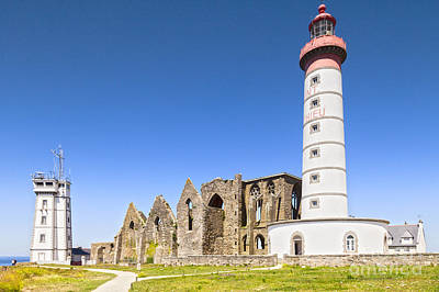 Photograph - Pointe Saint-mathieu Britanny France by Colin and Linda McKie