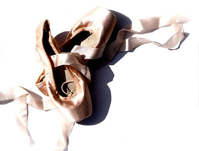Photograph - Pointe Shoes by Tracy Male
