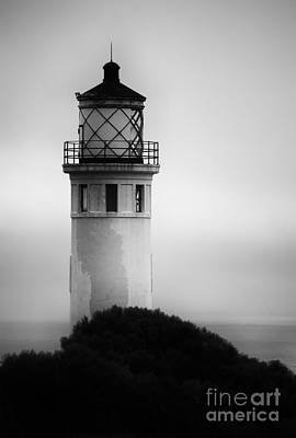 Photograph - Pointe Vincente Lighthouse by Donna Greene