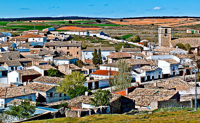 Points Of Cuenca - Castilla La Mancha - Spain Art Print by Pastor Bello