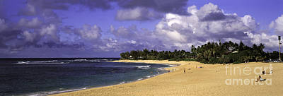 Beach Photograph - Poipu Beach In Kauai by Les Palenik