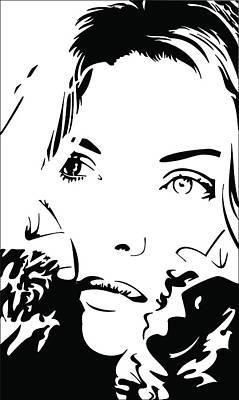 Michelle Digital Art - Poise by David Guentert