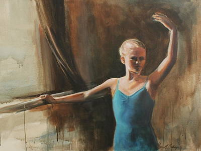 Painting - Poise by Susan Bradbury