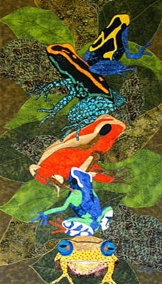 Poison Dart Frogs Art Print
