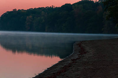 Photograph - Pokagon State Park Beach by Gene Sherrill