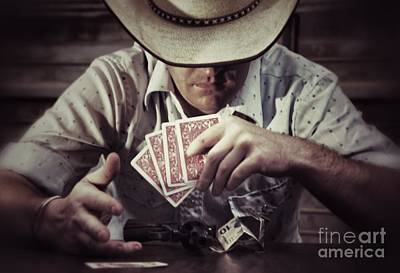 Photograph - Poker Face by AK Photography