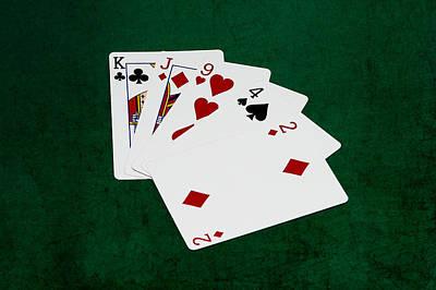 Achieving - Poker Hands - High Card 2 v.2 by Alexander Senin
