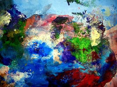 Poking Painting - Poking Fun by Aquira Kusume