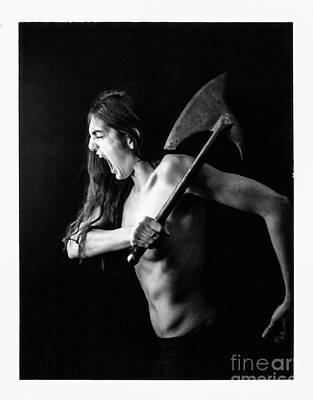 Polaroid Nude Photograph - Pol Jacs 6 by Douglas Duerring