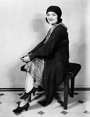 Pola Negri Photograph - Pola Negri, Summer 1929 by Everett