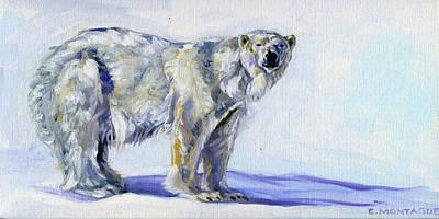Painting - Polar Bear Art Silatuyok by Christine Montague
