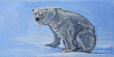 Painting - Polar Bear Pretty  by Christine Montague