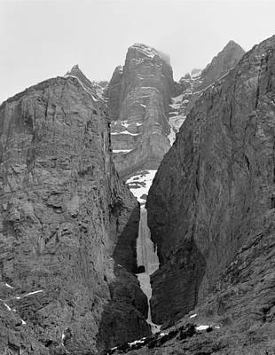 Photograph - 1m3649-bw-polar Circus Ice Route by Ed  Cooper Photography