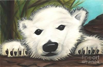 Alika Wall Art - Drawing - Polar Express-ion by Alika Crooks