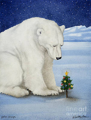 Polar Prayer... Art Print by Will Bullas