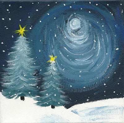 Painting - Polar Vortex 2014 by Lynn Babineau