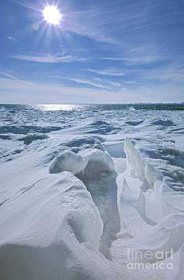 Photograph - Polar Vortex Winter by Charline Xia