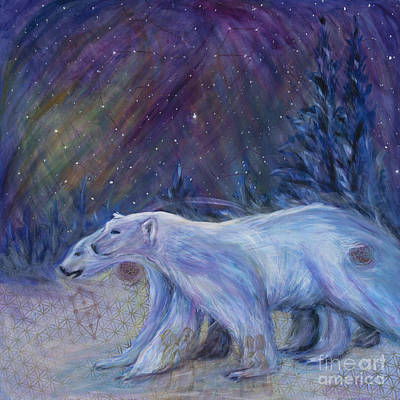 Ursa Minor Painting - Polaris by Angie Bray-Widner