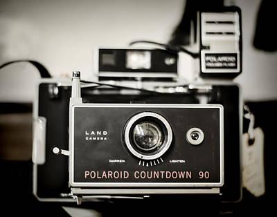 Photograph - Polaroid Countdown 90 by Heather Applegate