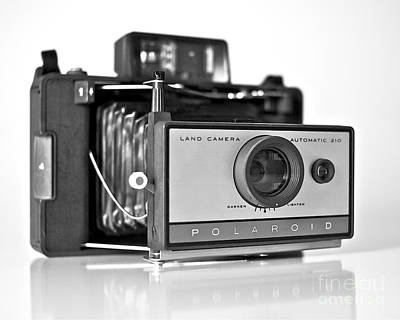 Photograph - Polaroid Land Camera 210 by Mark Miller