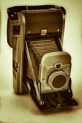 Polaroid Camera Photograph - Polaroid Land Camera Model 80b Film Analog by Andy Gimino